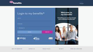 My Benefits - Johnston Group