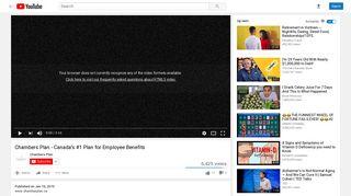 Chambers Plan - Canada's #1 Plan for Employee Benefits - YouTube