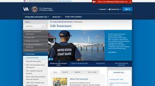 Life Insurance Home - Veterans Benefits Administration - VA.gov