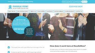 Cost Effective Training (E-Learning) - NoodleNow!™