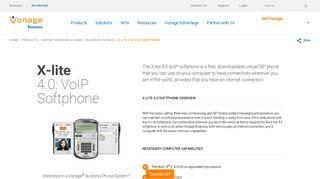 X-lite 4.0: VoIP Softphone & Virtual SIP Phone | Vonage Business