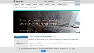 Overview | XactAnalysis SP - Xactware