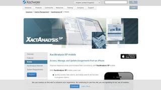 XactAnalysis SP mobile (UK) | XactAnalysis SP - Xactware