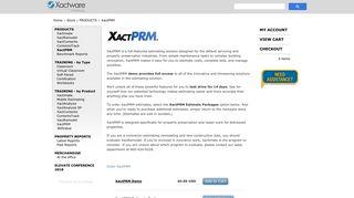 XactPRM   Xactware