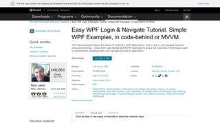 LoginControl.xaml - Easy WPF Login & Navigate ... - Code - MSDN