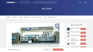 XAT 2019 – Cutoff (Released), Selection Procedure, Scorecard, Exam ...