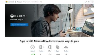 Microsoft account   Sign in to your Xbox account and discover more ...