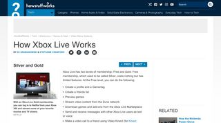 Silver and Gold - How Xbox Live Works   HowStuffWorks