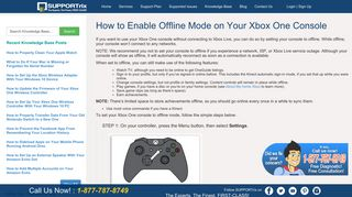 How to Enable Offline Mode on Your Xbox One Console SUPPORTrix
