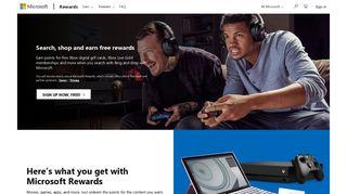 Microsoft Rewards - Search, shop and earn free rewards