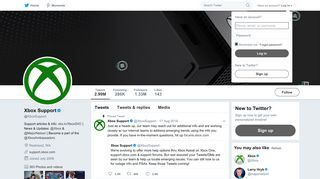 Xbox Support (@XboxSupport) | Twitter