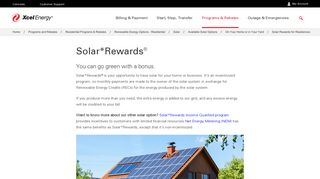 Solar*Rewards® for Residences   Xcel Energy