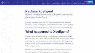 Replace Xceligent | Find Useful Data On Commercial Real Estate ...