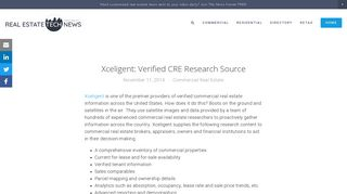 Xceligent: Verified CRE Research Source — Real Estate Tech News