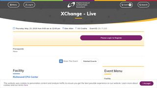 XChange - Live | Virginia Society of Certified Public Accountants