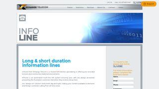 InfoLine - Xchange Telecom