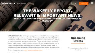 Wakefly Launches New Site For XCM Solutions - Wakefly, Inc.