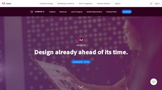Download free Adobe XD CC | UX/UI design and collaboration tool