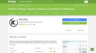 XenCALL Pricing, Features, Reviews & Comparison of Alternatives ...