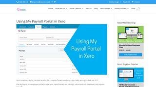 Using My Payroll Portal in Xero - Caseron Cloud Accounting