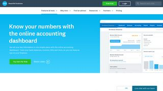 Online Accounting Dashboard | Xero NZ