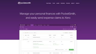 Manage your personal finances with PocketSmith, and easily send ...