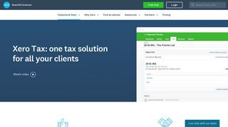 Tax Software for Accountants & Bookkeepers | Xero NZ