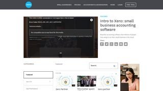 Intro to Xero: small business accounting software - Xero TV