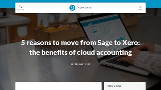 5 reasons to move from Sage to Xero: the benefits of cloud accounting ...