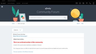 Admin tool login - Xfinity Help and Support Forums - 2575082