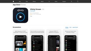 Xfinity Stream on the App Store - iTunes - Apple