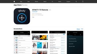 XFINITY TV Remote on the App Store - iTunes - Apple