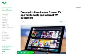 Comcast rolls out a new Stream TV app for its cable and internet TV ...