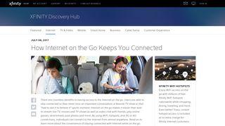 Internet on the Go - Xfinity