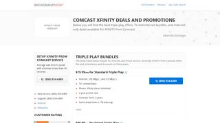XFINITY from Comcast - BroadbandNow.com