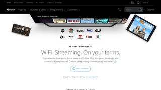 XFINITY Instant TV   Stream Live TV Your Way