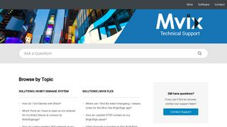 Mvix | Portal