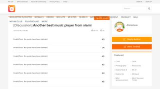 Another best music player from xiami - Tips & Tricks - Mi ...