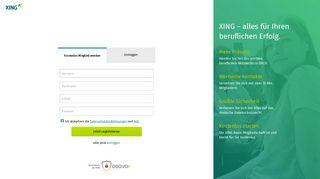 Registrierung | XING