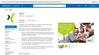 XING - Microsoft AppSource