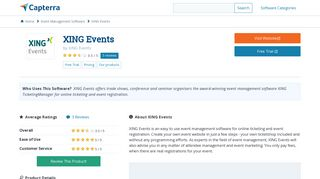 XING Events Reviews and Pricing - 2019 - Capterra