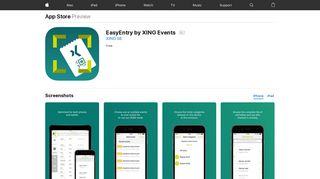 EasyEntry by XING Events on the App Store - iTunes - Apple