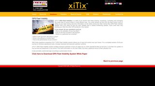 xiTix™ - Real Time All the Time