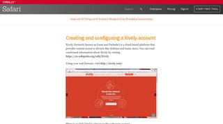 Creating and configuring a Xively account - Internet of Things with ...