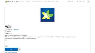 Get MyXL - Microsoft Store