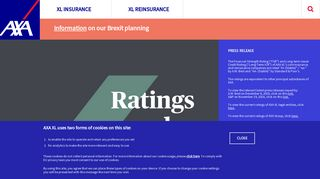 AXA XL - Global Property and Casualty Insurance and Reinsurance