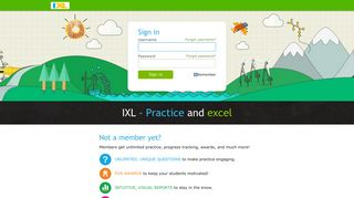 IXL - Sign In