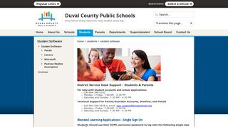 Student Software / Student Software - Duval County Public Schools