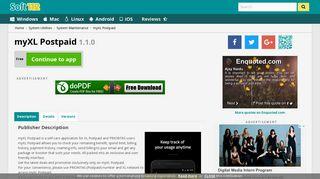 myXL Postpaid 1.1.0 Free Download