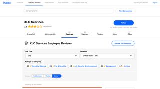 Working at XLC Services: 139 Reviews | Indeed.com